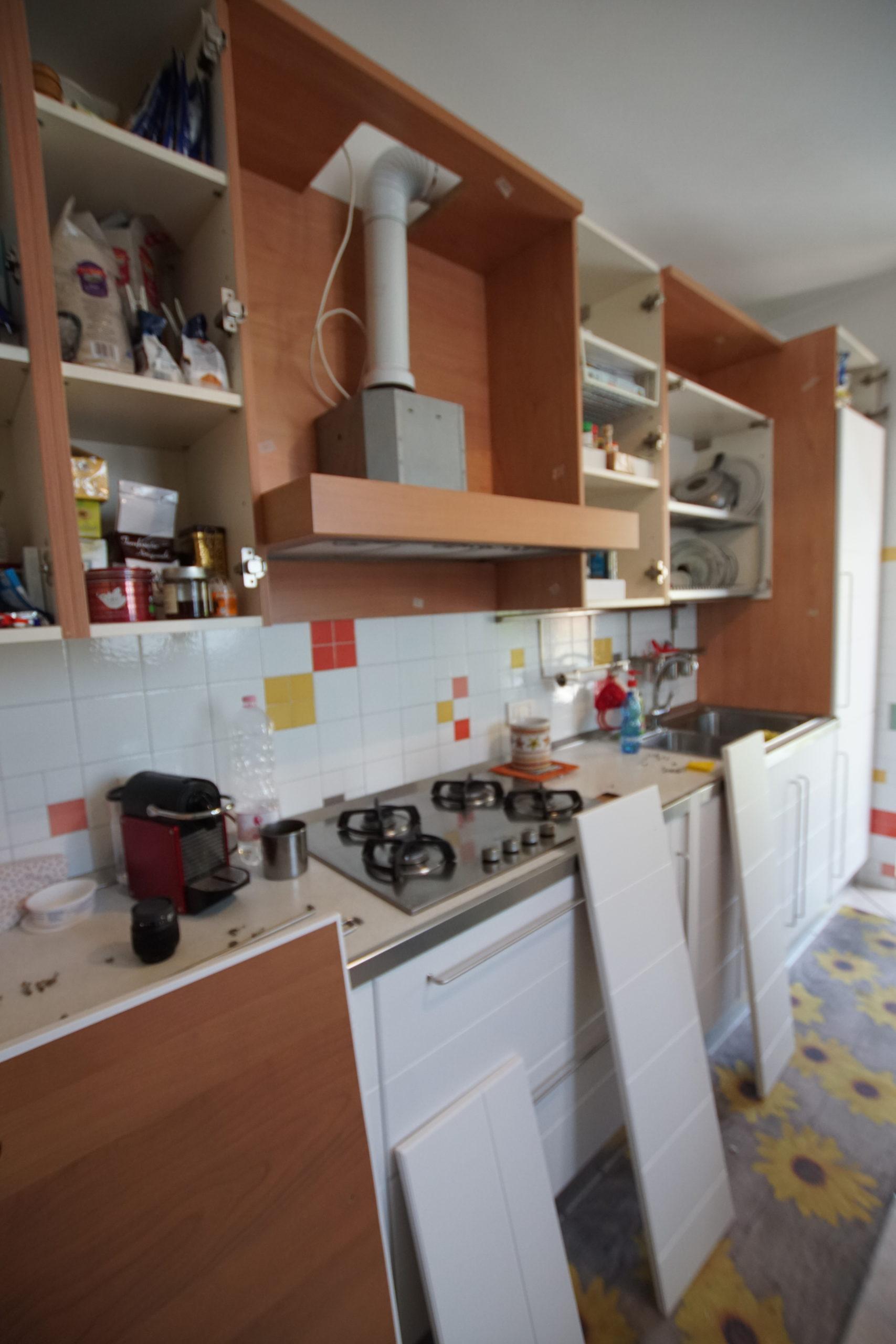Rinnovo cucina Scavolini – Parabiago