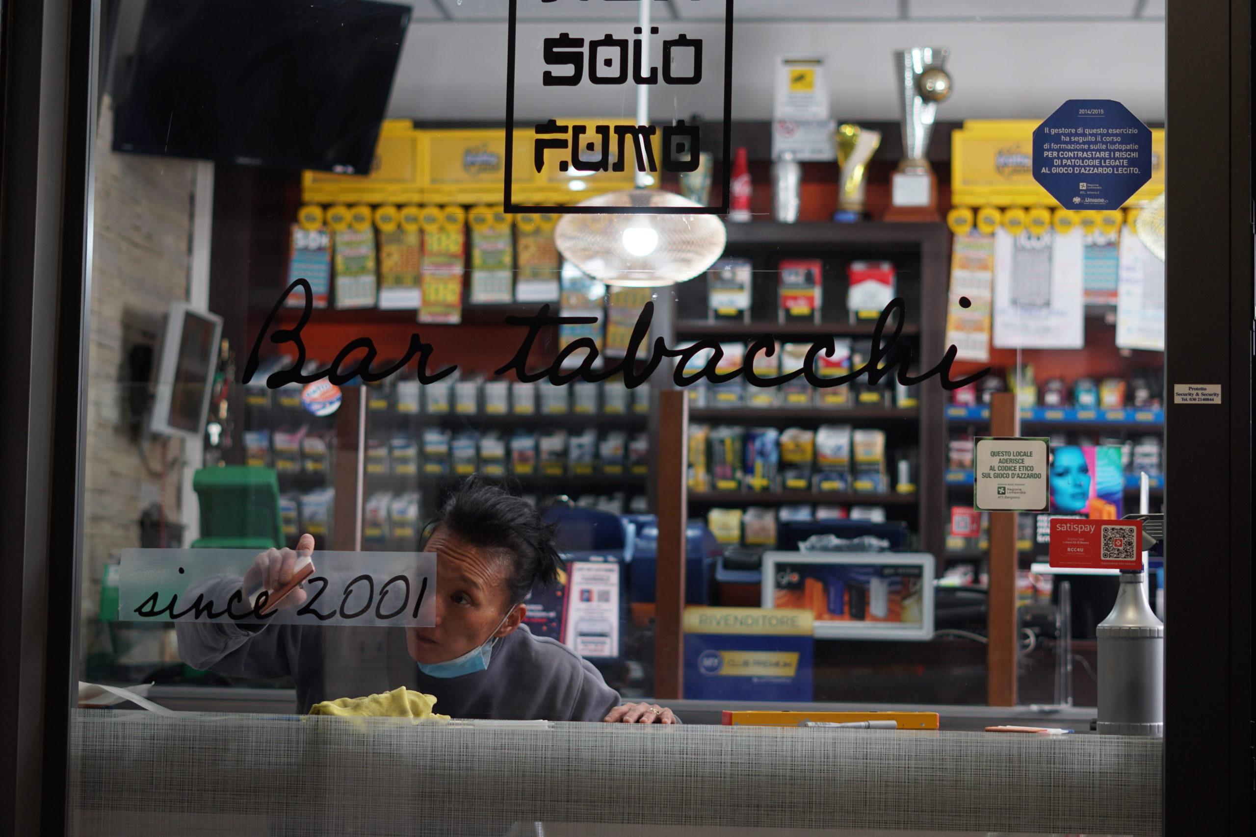 """Rinnovo locale commerciale """"Non solo fumo"""" di Caravaggio"""
