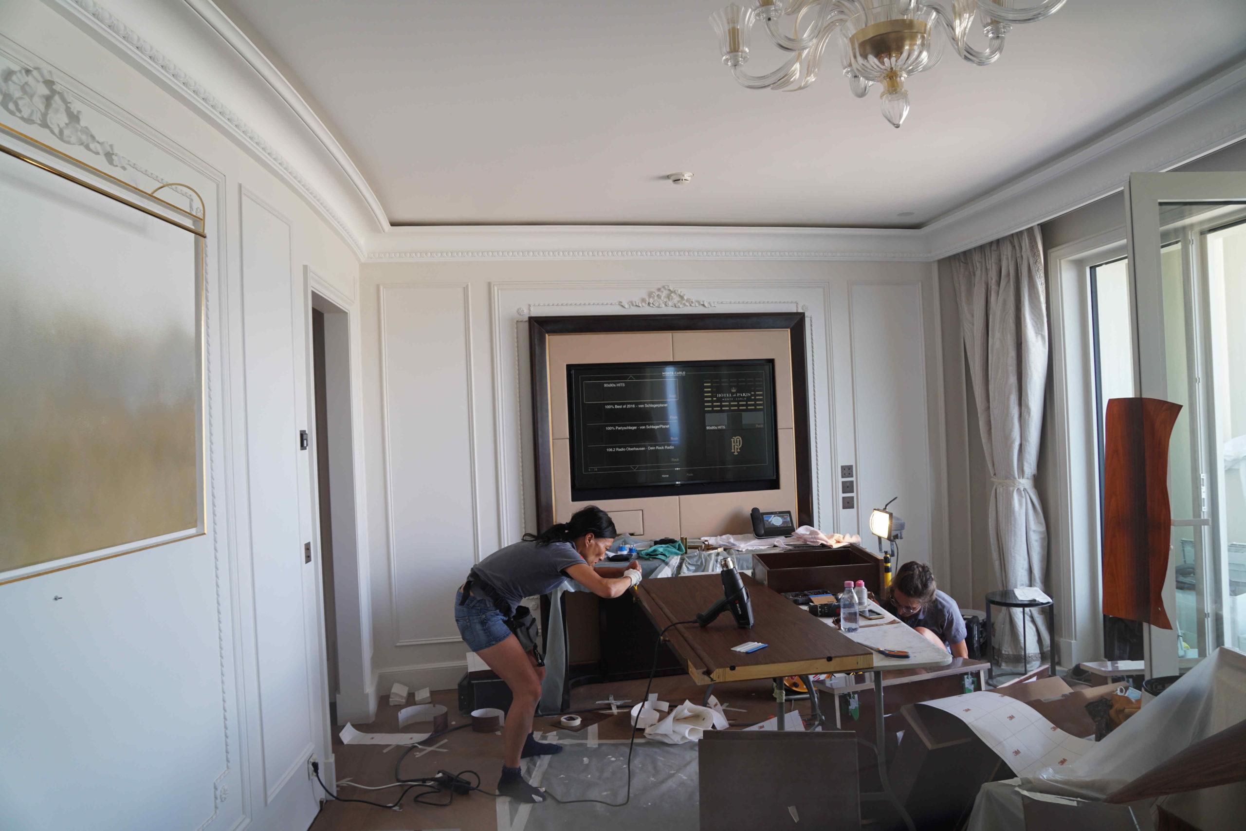 Wrapping hotel  – Camere da letto