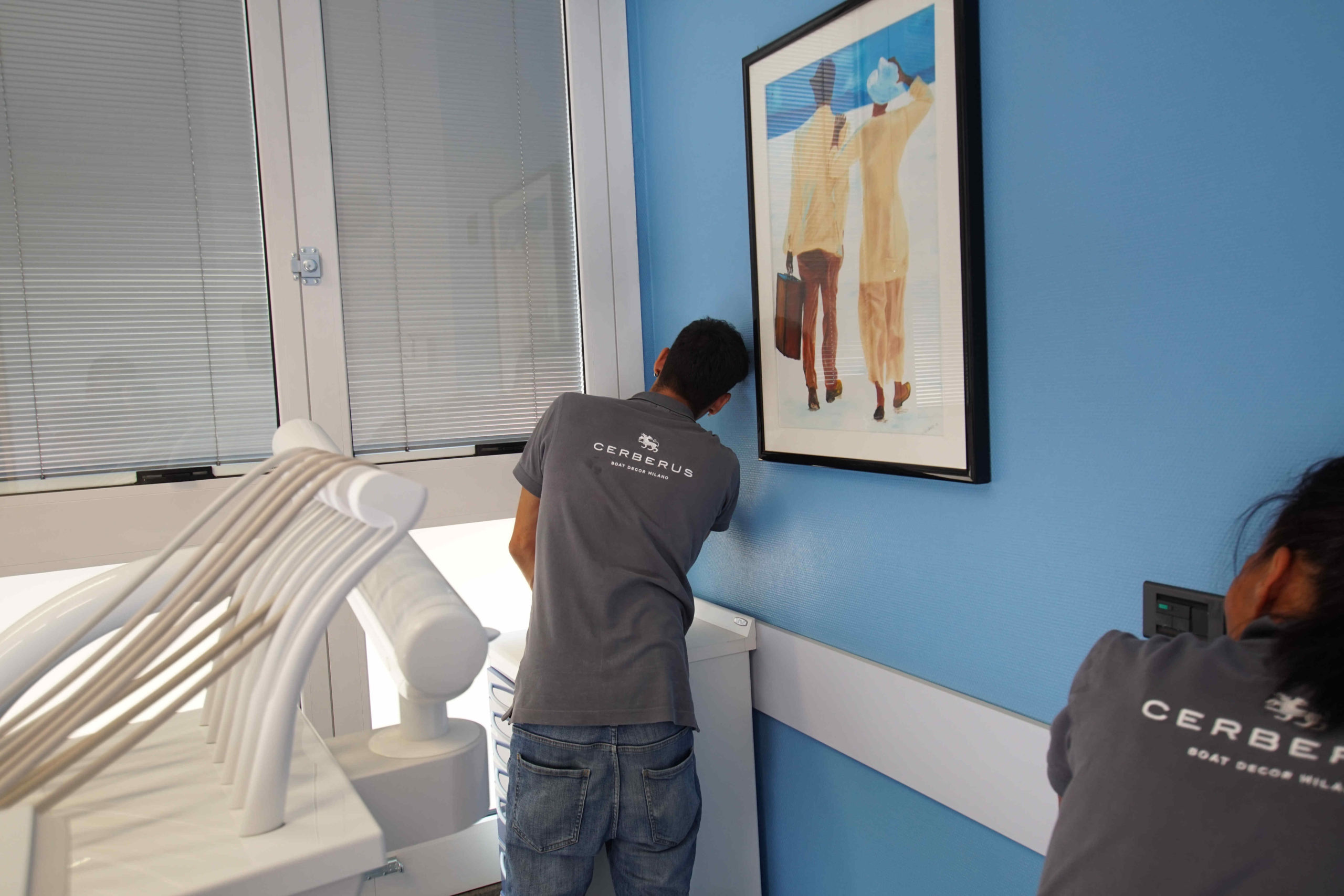 Wrapping studio ortodonzia  – Milano Porta Nuova