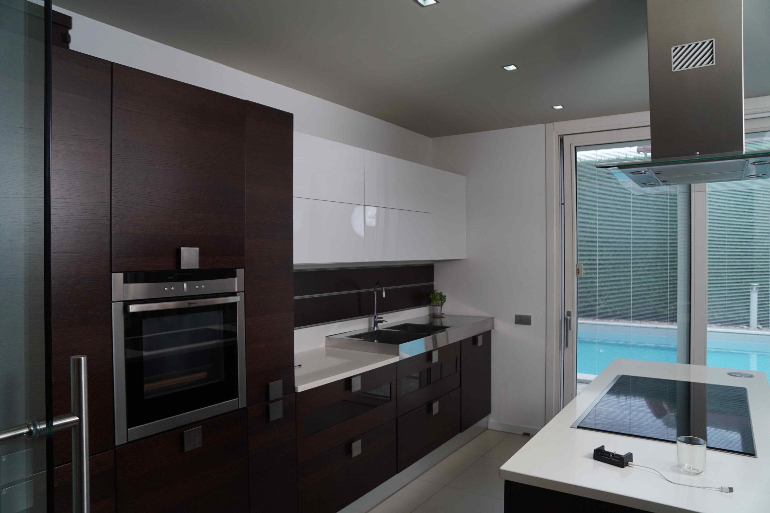 Cucina con piscina – Vaprio d'Adda